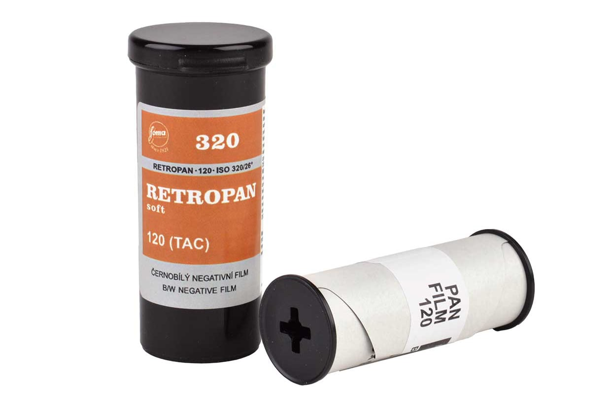 Retropan film available from Blanco Negro website.
